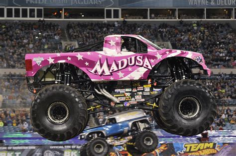 monster jam truck videos noise pr
