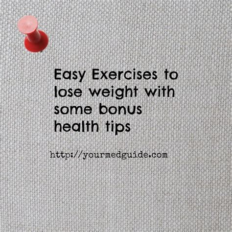 how to lose weight easy exercises at home highest