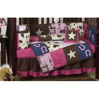 cowgirl crib bedding sweet jojo designs cowgirl collection 9pc crib bedding set