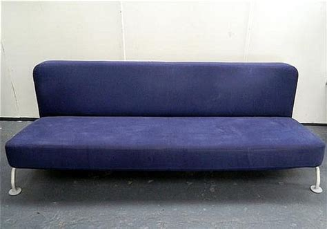 b b italia lunar sofa bed lunar sofa bed in alma navy by b b italia european