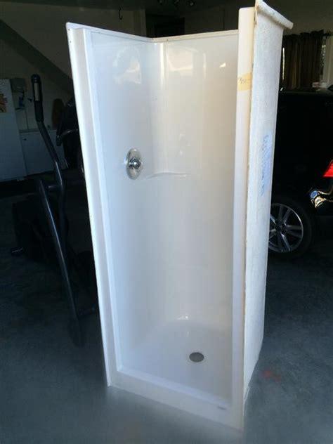 used bathroom stalls 30x30 shower stall outside nanaimo nanaimo