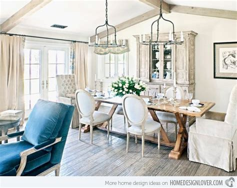 chic interior design 15 pretty and charming shabby chic dining rooms home design lover