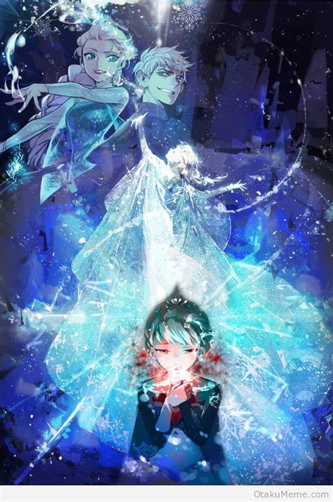 wallpaper frozen anime frozen in anime image collections wallpaper and free