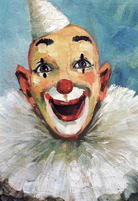 clown paint process the quot quot in