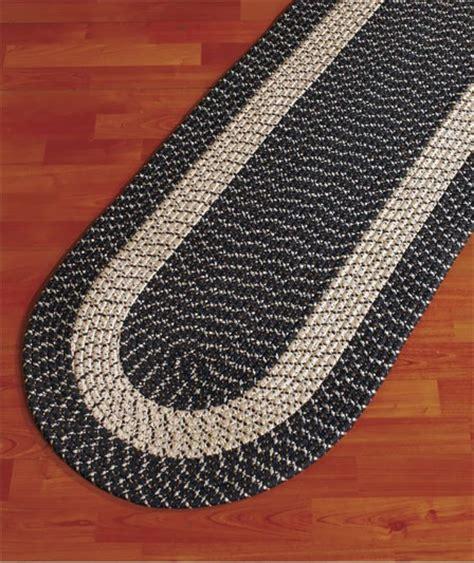 braided rug runner kitchen laundry brown braided runner rug 59 1 2 quot new ebay
