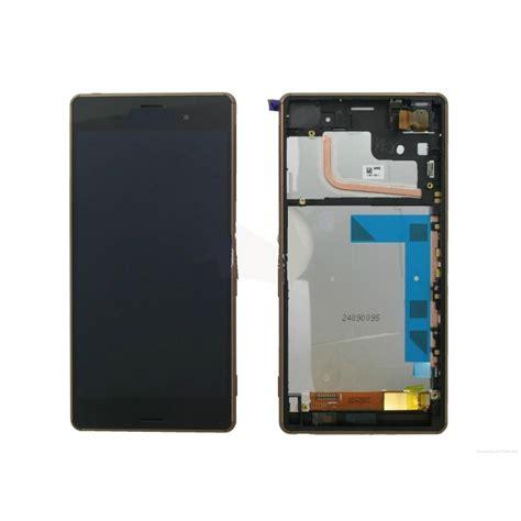 Lcd Hp Sony Xperia Z3 ensemble lcd tactile cadre sony xperia z3 d6603 d6653 noir s2i informatique