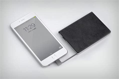 Dompet Untuk Kartu zilion dompet kartu yang bisa mengisi daya smartphone blackxperience