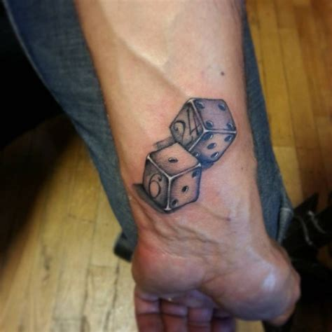 dice tattoos designs ideas and meaning tattoos for you