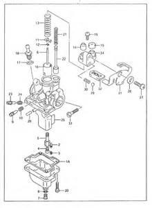 Suzuki Jr 50 Carburetor Diagram Suzuki Carburetor 00 06 Jr50 Jr 50 Carb