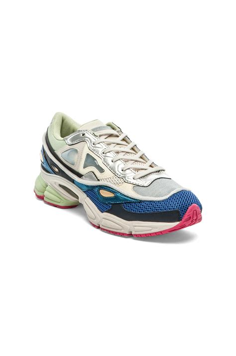 Raf Simons Shoes Beige by Adidas By Raf Simons Ozweego 2 In Beige For White Supply Bold Pink Lyst