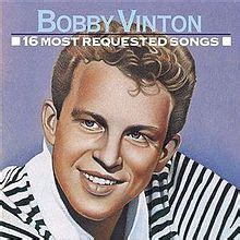 blue roses cover your tracks 16 most requested songs bobby vinton album