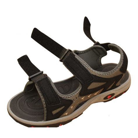 sports walking shoes dunlop mens velcro summer sandals sports walking