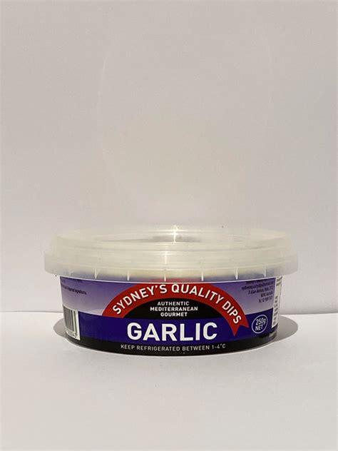 sydneys quality dips garlic  kareela grocer