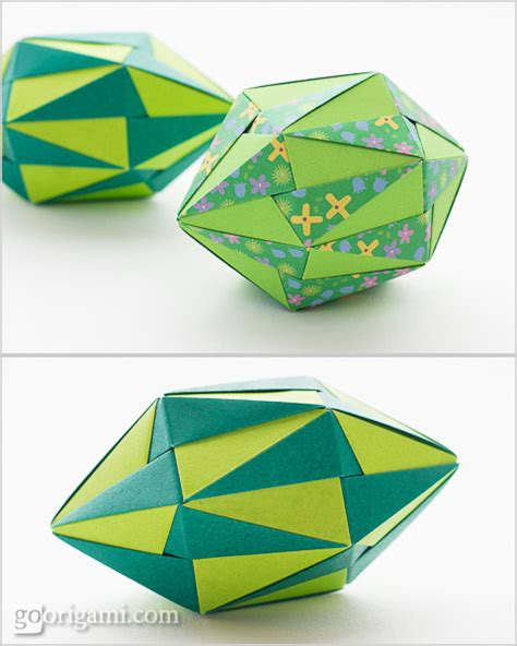 Origami On The Go - origami polyhedra gallery go origami
