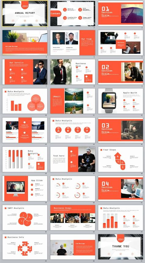 magazine layout powerpoint 27 creative infographics annual report powerpoint