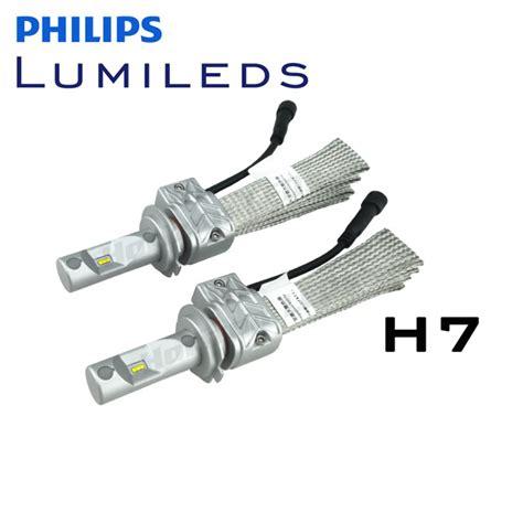 lade h7 philips h7 philips lumileds luxeon headlight led kit 4000 lumens v2