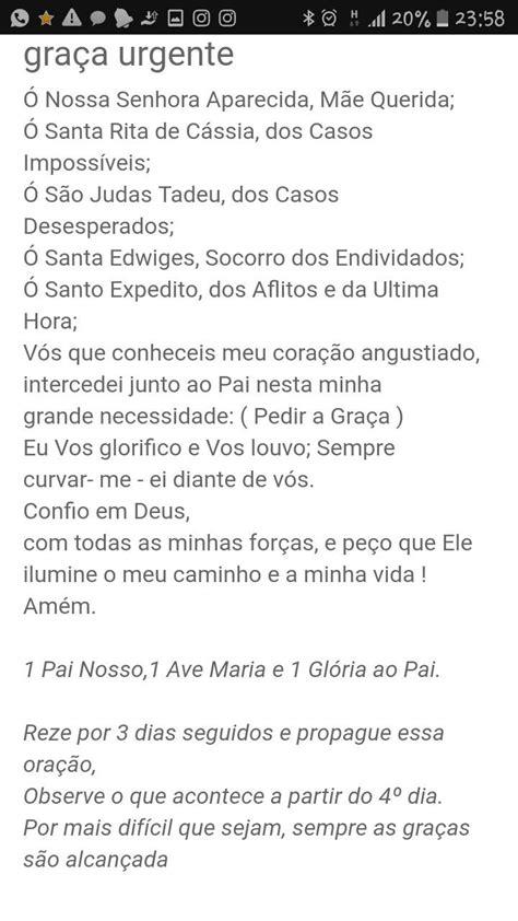 Pin de Carolina Cândido em Screenshots   Oração, Santo