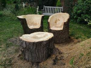tree trunk furniture logs tree stump furniture and furniture on