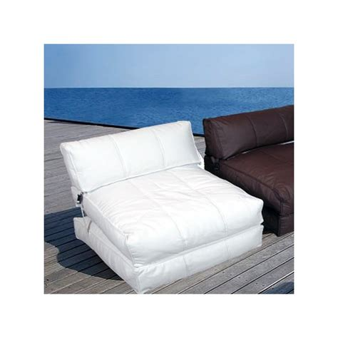 puff chair convertible in sun longuer for chill out