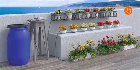 irrigazione automatica vasi aqua magic system per irrigare a goccia senza