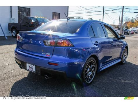 2011 Mitsubishi Lancer Evolution Mr by 2011 Mitsubishi Lancer Evolution Mr In Octane Blue Pearl