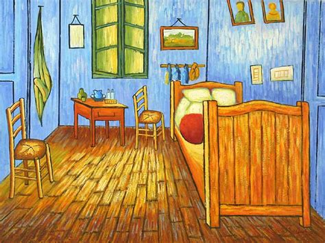 goghs bedroom in arles paintings on canvas