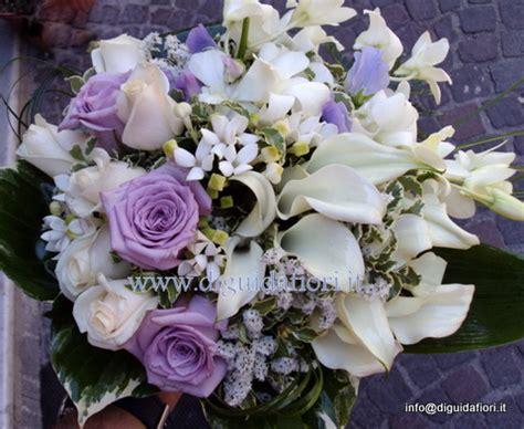 fiori color lilla bouquet da sposa bianco e glicine fiorista roberto di guida