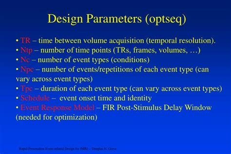layout parameters cannot be null ppt rapid presentation event related design for fmri