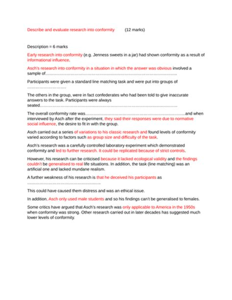 Conformity Essays by Conformity Essay Psychology Conformity Essay Resume Exles Individualism Essay Free