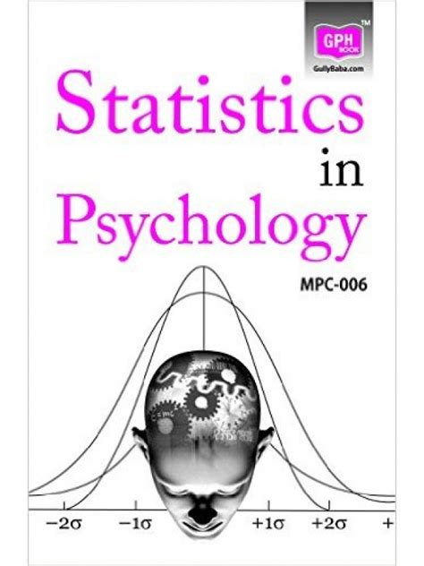 Psychology And Mba Combination by Mpc 6 Statistics In Psychology Gph Publication