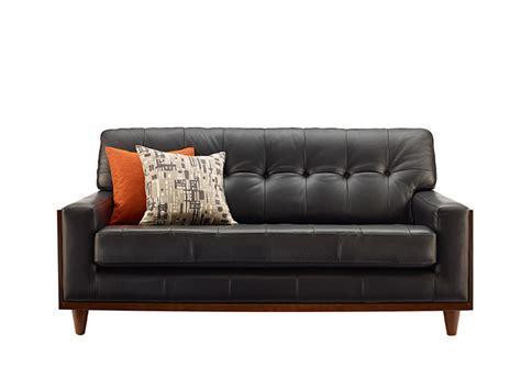 leather sofa small small black leather sofa bed centerfieldbar thesofa