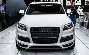How Much Does A Audi Q7 Cost 2014 Audi Q7 Release Date And Price