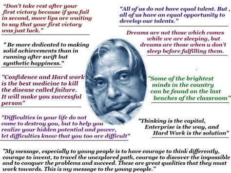 motivational biography for students quotes by apj abdul kalam for students