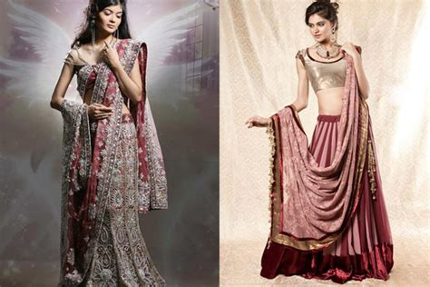 different ways to drape a dupatta different ways to drape a bridal lehenga dupatta in style