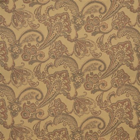 brown and tan solid woven outdoor upholstery fabric by the orange tan and brown floral woven outdoor upholstery