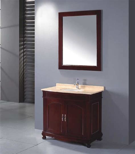 Solid Wood Bathroom Cabinet Solid Wood Bathroom Cabinet Bathroom Vanity Bathroom Cabinet Yl S9854 China Bathroom