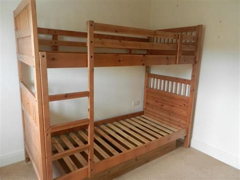 Ikea Hemnes Bunk Bed In Leicester Leicestershire Gumtree Ikea Wooden Bunk Bed
