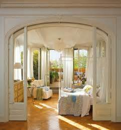 romantic bedroom design with semicircular windows digsdigs