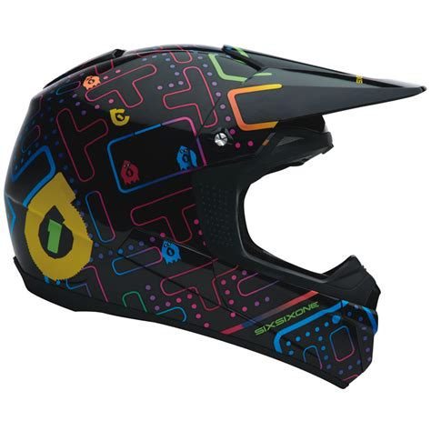 sixsixone motocross helmets sixsixone fenix arcadium motocross helmet protection