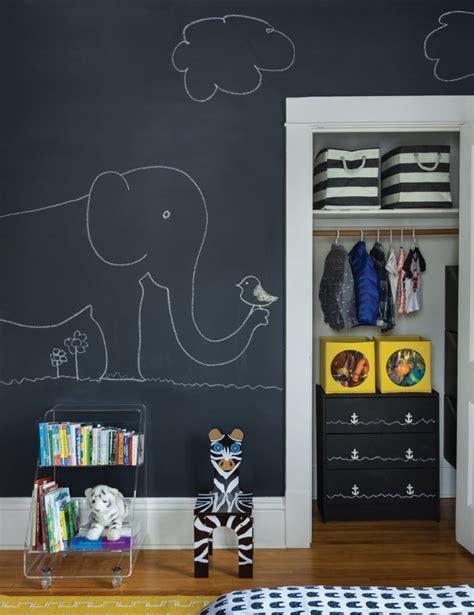decoracion habitacion infantil paredes pintura de pizarra usos e ideas originales hoy lowcost