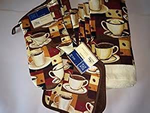 coffee lover s themed kitchen towel set with