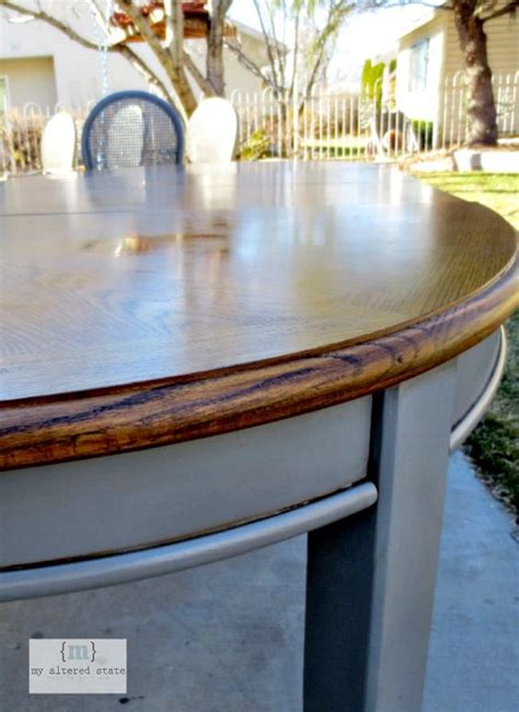 how to refinish dining table refinished table stains painting dining tables and diy