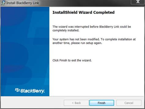 install windows 10 link cannot install blackberry link on windows 7 pc