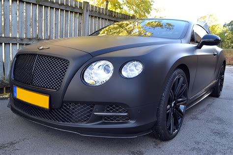 matte blue bentley matte black wrap for bentley continental gt reforma uk