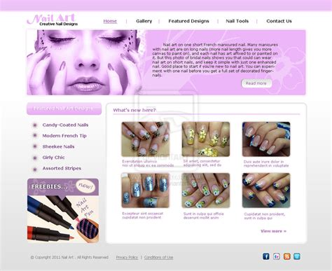 Nail Websites by Nail Websites