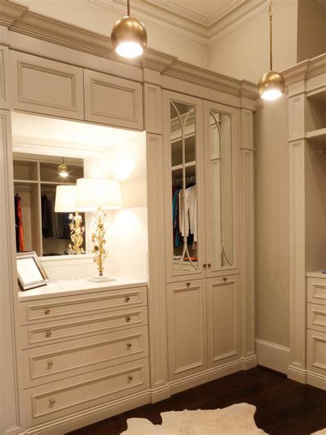 extravagant white master bedroom closet hgtv