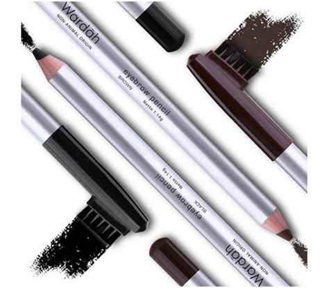 Wardah Eye Brow Pencil Black halal cosmetics singapore wardah eyebrow pencil black