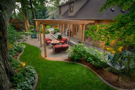 backyard decorating ideas 20 landscape outdoor area design ideas in traditional