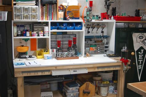 best reloading bench layout building a reloading bench the outdoors trader