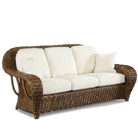 wicker couch replacement cushions lane venture replacement cushions sofa natural wicker